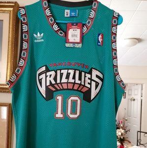 #10 Mike Bibby Memphis Grizzlies Jersey